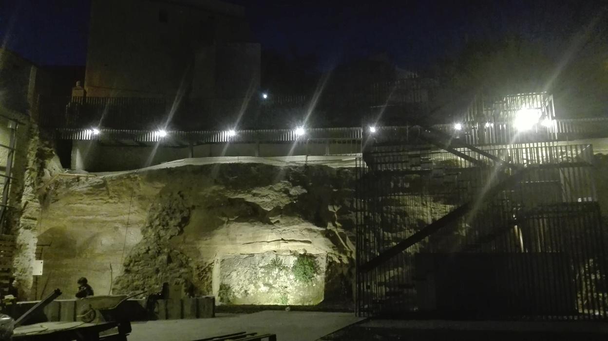 Plaza Borja Iluminación